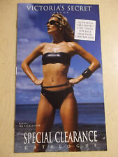 Victoria's Secret 8L Special Clearance 1998 Karen Mulder sexy cover
