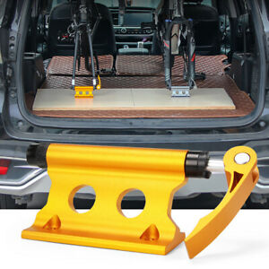 Bike Bicycle Front Fork Quick-release Car SUV Carrier Alloy Block Mount Rack Con