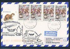 78969) Österreich FISA SF Wien - Graz 14.5.2011, Karte ab Korea