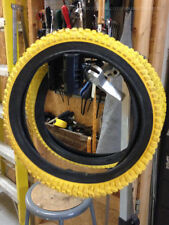 "UNIQ CAMEL 16"" x 1.9"" Old School BMX Yellow Black Pit Kids Bicycle Bike Tire NEW"