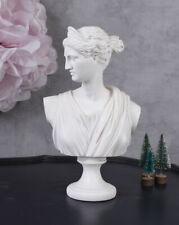 Göttin Diana mythologische Frauenbüste antike WEISS