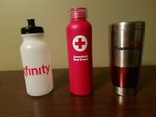 Promotional water bottle / thermos set of 3
