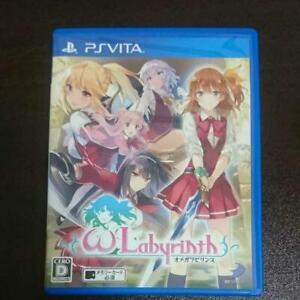 PS Vita Omega Labyrinth Sony PlayStation PSV Japan Import