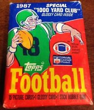 1987 Topps NFL Football Sealed Pack Special 1000 Yard Club ShopTradingCards.com