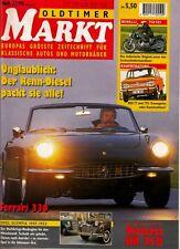 *w- Oldtimer MARKT Dez./94 - VICTORIA KR35B - FERRARI 330 - NSU TT und TTS
