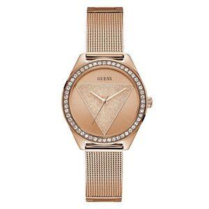 Guess W1142L4 Women's Tri Glitz Wristwatch