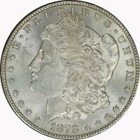 1878-S Silver Morgan Dollar Mint State UNC Raw Uncertified US Coin