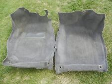 94 SAAB 9000 Front Carpet Set Original Gray 94-98 Right And Left