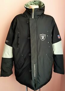 NFL Oakland Raiders Winter vintage Reebok Men's Down Jacket size XL