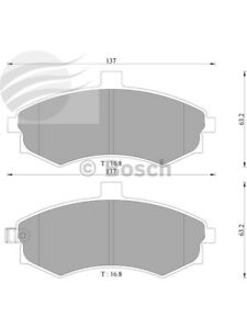 Bosch Brake Pad Front Set For Hyundai Elantra & Lavita (DB1503BL)