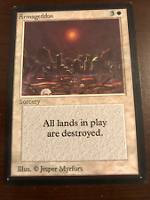 ARMAGEDDON Collector's Edition Magic the Gathering MTG 93/94 Old School CE