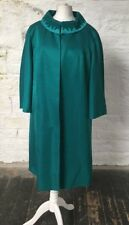 Peggy French Couture Vintage Green Dress with Long Jacket 2Pcs 325