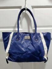 Nine West Blue White Handbag Purse