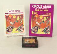 Vintage Boxed Atari 2600 game Circus Atari Tested & Working