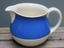 Großer Milchkrug VILLEROY & BOCH Dresden ART DECO Blau Weiß Krug