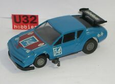 FN TROBY SLOTLESS RENAULT ALPINE A310 #14 AZUL EXCELLENT CONDITION UNBOXED