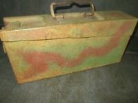 ww2 rare caisse a mg 42 allemand camouflage Normandie 3 tons
