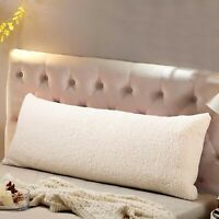 """Reafort Ultra Soft Sherpa Body Pillow Cover/Case with Zipper Closure 21""""x54"""" ..."""