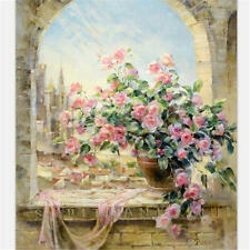 CASTLF FLOWER ARTIST COLLECTION PAINT BY NUMBERS ACRYLIC PAINTING ON CANVAS NEW
