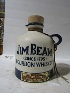Jim Beam IAJBBSC Blue Jug  Decanter