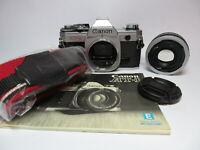 Canon AT-1 Classic SLR Camera (All Manual AE-1) & Canon FD 50mm f1.8 Prime Lens