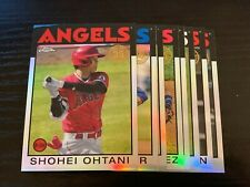 2021 Topps Chrome - 1986 Insert's Pick your card - Complete your set