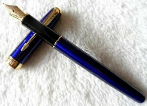 Outstanding Blue Parker Sonnet Pen High Quality Medium Nib Fountain Pen