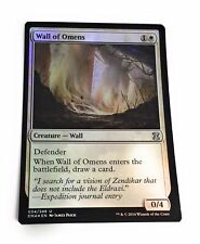 Foil Wall Of Omens Eternal Masters Mtg Magic The Gathering Nm M 1x