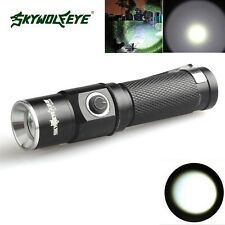 15000 Lumen 3 Modes  XML T6 LED Flashlight Lamp Fit 14500 Pocket Size Light
