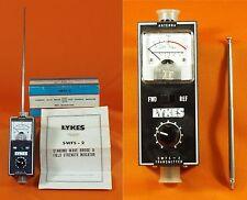 Lykes Swfs-2 Standing Wave Bridge & Field Strength Indicator w/ Antenna & Manual