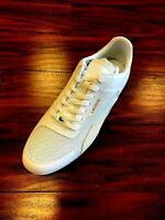 Lacoste Mens Sneakers Sport Casual White Hapona 120 3 CMA Leather Suede 7-39042