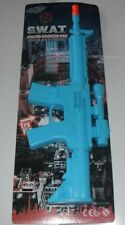 TOY S.W.A.T. POLICE MACHINE GUN WITH SOUNDS (NO BATTERY'S NEEDED).Fancy Dress