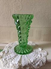 Britain Green Depression Glass Date-Lined Glass
