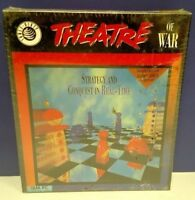 "Vintage 1992 Theatre of War IBM PC game 3.5"" Disks BRAND NEW SEALED Big Box Rare"
