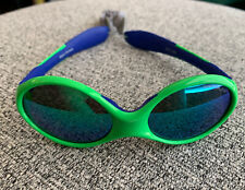 Julbo Looping 3 Toddler Sunglasses, Blue / Green, Spectron 3 CF Blue Lens (USED)
