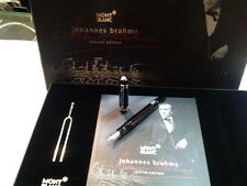MONTBLANC DONATION SPECIAL EDITION JOHANNES BRAHMS FOUNTAIN PEN (F) #107448- NEW