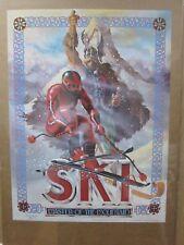 Ski Master of the mountain Vintage poster skiing Ski 1982 Inv#G2161