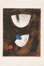 John Piper Original Lithograph Anglesey Beach 1963 Limited Edition Sreen Print