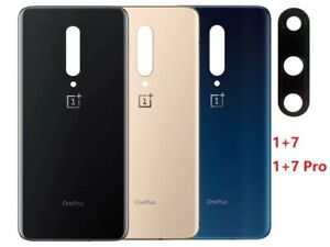 Glass Back Door Battery Cover Replacement For OnePlus 7/7 Pro/1+7/7 Pro W/Tape