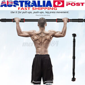 440LB Doorway Pull Up Bar Adjustable Chin-up Exercise Sport Fitness Training Gym