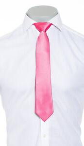 Mens Silk Tie Designer Alexander Caine London Designer Pink Suit Accessory
