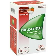 NICORETTE 2 mg freshfruit Kaugummi 105 St PZN 1639595