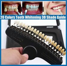 Dental Shade Guide Tooth Bleaching Shadeguide 20 Colors For Teeth Whitening Usa