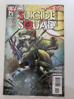 SUICIDE SQUAD #2 (2011) DC 52 COMICS MOVIE! HARLEY QUINN! DEADSHOT! 1ST PRINT NM