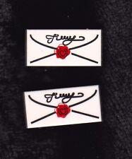 8mm*16mm*5mm Heiß Neu Silber Ton Metall Siegel Typ F688ZZ Flansch Kugellager ^^