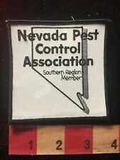 Nevada Pest Control Association Member Southern Region Patch Bug & Pest 79WE