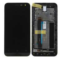 Fr Asus ZenFone 2 2E ZE500CL Z00D LCD Display Touch Screen Digitizer Black Frame