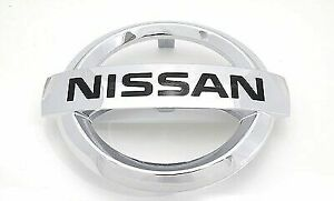 Nissan Altima Murano Quest Rogue Front Radiator Grille Chrome Emblem NEW OEM