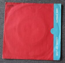 Dire Straits, tunnel of love, SP - 45 tours import