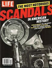 LIFE MAGAZINE SPECIAL ISSUE: MOST NOTORIOUS SCANDALS IN HISTORY (2015) FREE SHIP